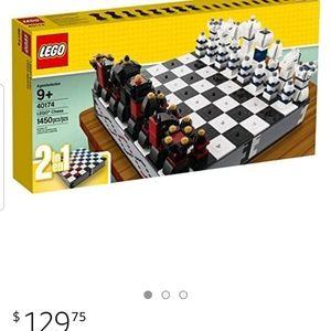 Lego chess set